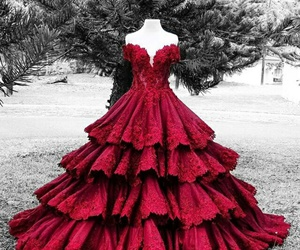wedding red dresses image