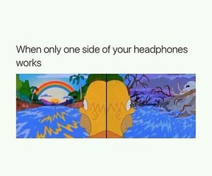 funny, headphones, and lol image