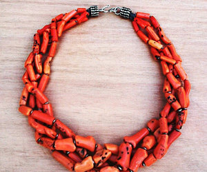etsy, old ethnic necklace, and old tribal necklace image