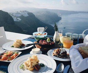 food, breakfast, and view image