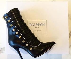 Balmain, boots, and heels image