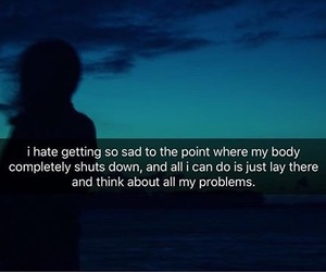 aesthetic, quotes, and sad image