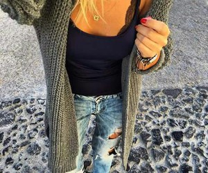accessories, wool, and jacket image