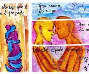 abraco, beijo, and amor image