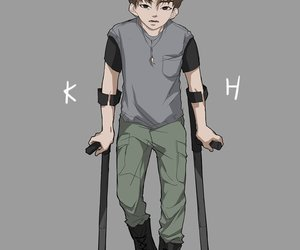 chibi, all in, and kihyun image