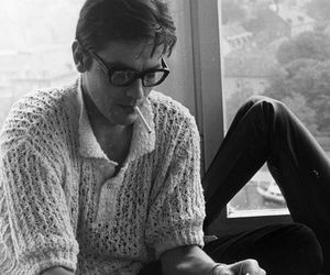 Alain Delon, actor, and glasses image