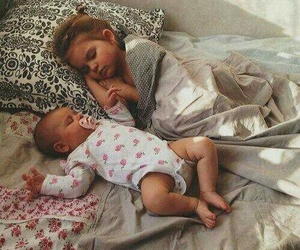 baby, sleep, and child image