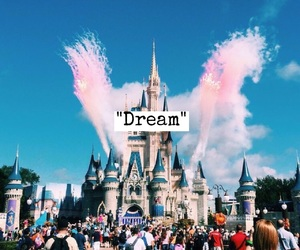 disney, Dream, and disneyland image