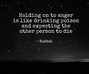 quote, anger, and buddah image