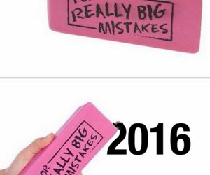 funny, 2016, and eraser image