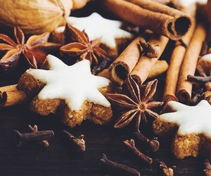 christmas, Cinnamon, and winter image