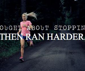 run, motivation, and workout image