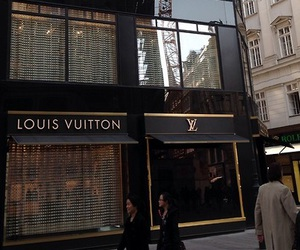 Louis Vuitton, LV, and shop image