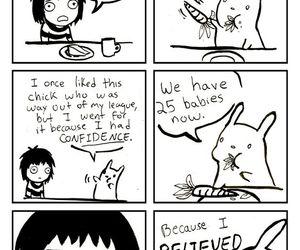 rabbit, sarah andersen, and comic image