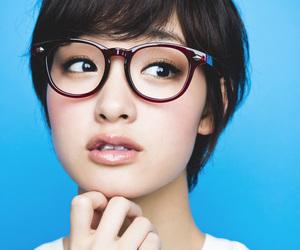 fringe, glasses, and hair image