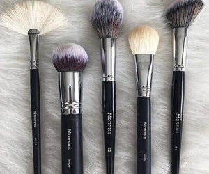 makeup, Brushes, and morphe image