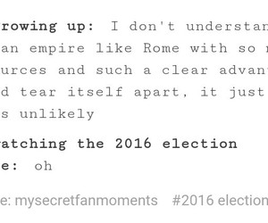 bullshit, elections, and fml image