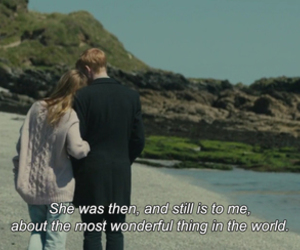 movie, domhnall gleeson, and about time image