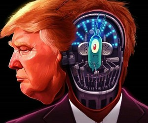 president, plankton, and trump image