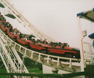 vintage, indie, and Roller Coaster image