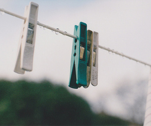 vintage, clothespin, and sky image