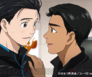 yuri katsuki, anime, and yuri!!! on ice image