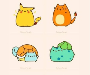 pokemon, cute, and pusheen image
