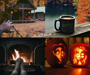 autumn, caracters, and fire image