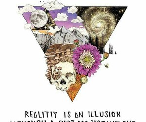 art, psychedelic, and reality image