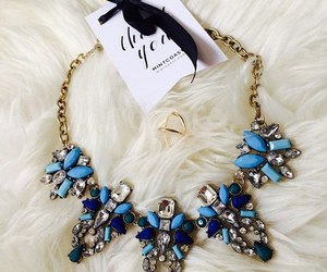 beautiful, luxury, and necklace image