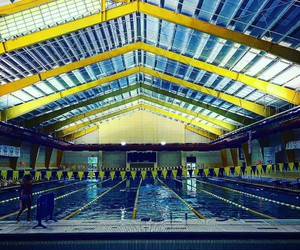 competition and swimming-pool image