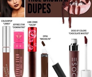 kylie jenner, kylie cosmetics, and lips image