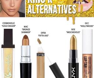 kylie jenner, king k, and makeup image