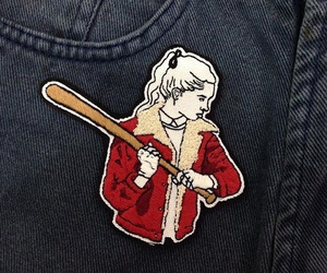 stranger things, patch, and Nancy image