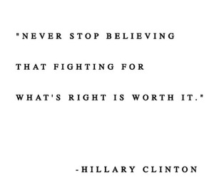 clinton, hillary, and quotes image
