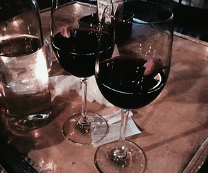 classy, red, and wine image