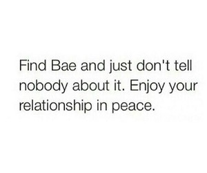 bae and Relationship image