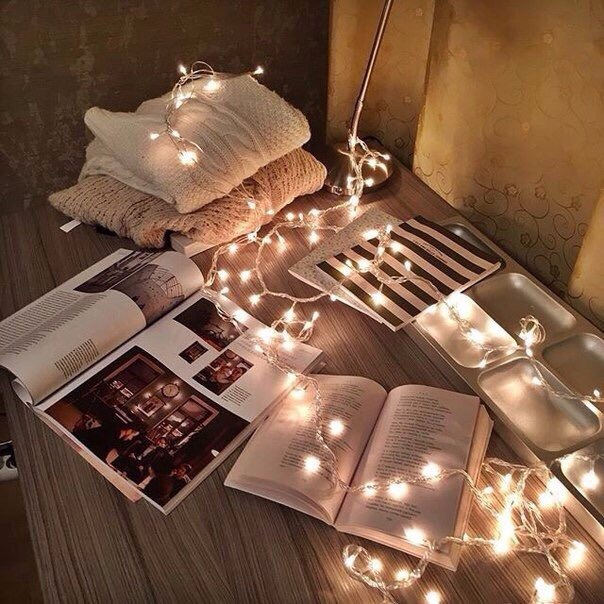christmas, book, and light image