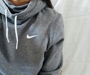 nike, fashion, and grey image
