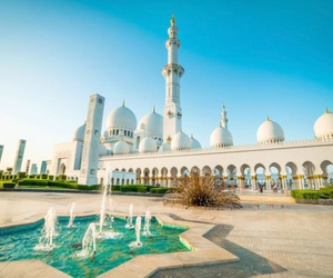 abu dhabi, beautiful, and Dubai image