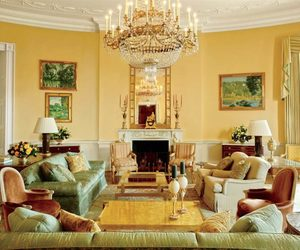 Architectural Digest, interior design, and yellow image