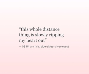 broken, distance, and feels image