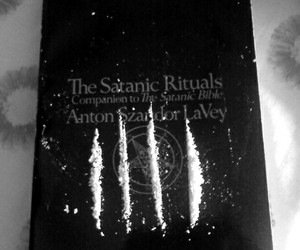 drugs, satan, and cocaine image