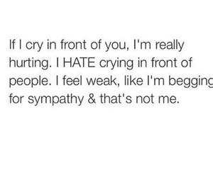 quotes, cry, and crying image