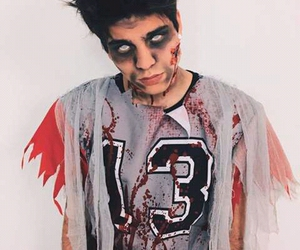 Halloween, blood, and makeup image