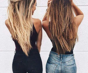 beauties, hair, and ombre image