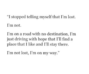 lost, road, and stay image