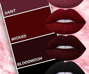 lipstick, lips, and beauty image