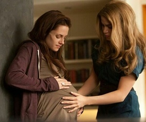 breaking dawn, twilight, and pregnant image