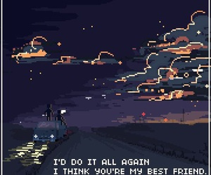 pixel, art, and quotes image
